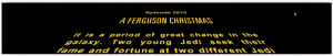 Star Wars Craw for Christmas Letter